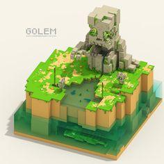 "Consulta mi proyecto @Behance: ""Golem"" https://www.behance.net/gallery/47423435/Golem"