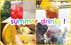 اصنع مشروبات بارده للصيف بنفسك ♡ DIY summer Cold Drinks