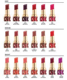 Yves Saint Laurent Rouge Volupte Shine.  Try #6 Pink In Devotion (on model) http://www.makeupstash.com/2012/11/sneak-peek-yves-saint-laurent-beaute-rouge-volupte-shine.html