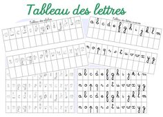 Petits jeux autour des lettres - Dans ma trousse, il y a...(used for advanced learners in MATERNELLE)