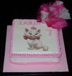 Aristocats, Marie edible picture cake