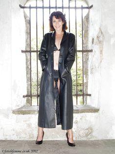 Long Leather Coat, Duster Coat, Female, Jackets, Shoes, Fashion, Leather, Down Jackets, Moda