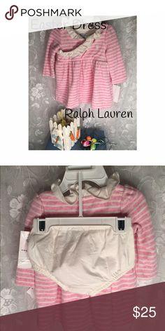 Ralph Lauren 2-piece Easter dress Adorable! Easter dress!  Ralph Lauren! Pink and cream! Ralph Lauren Dresses Formal
