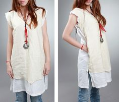 another versatile tunic dress - I love to wear mine over jeans