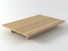 Paola Lenti Sunset coffee table 3d model | Francesco Rota