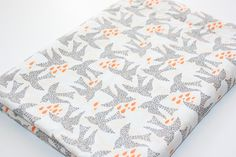 Baby Blanket  Fly by in Day from the Sweet as by modernmadebaby