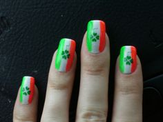 St Patrick's Day - Nail Art Gallery