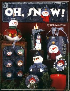 Oh, Snow! (free online patterns & instructions)