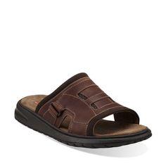 Clarks Untaino Mens Slides Sandals - http://clarksshoes.info/shop/clarks-untaino-mens-slides-sandals