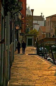 Venice! Sunny part by Pensiero, via Flickr  Venezia, Italy