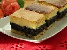 Seromakowiec z bakaliami Polish Recipes, Polish Food, Amazing Cakes, Sweet Tooth, Cheesecake, Food And Drink, Sweets, Baking, Poppy