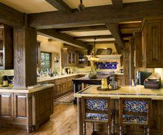 [ Amazing Modern Kitchen Beautiful Homes Design Tuscan Kitchen Style Pics Capital Mark Granite Cabinets Flooring ] - Best Free Home Design Idea & Inspiration Rustic Kitchen Design, Kitchen Decor, Kitchen Ideas, Kitchen Storage, Kitchen Layout, Kitchen Inspiration, Küchen Design, Home Design, Design Ideas