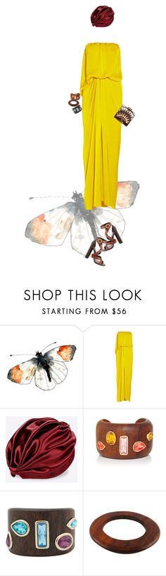 """Untitled #1998"" by land ❤ liked on Polyvore featuring Lanvin, KOTUR, Valentino, Oscar de la Renta, Chanel and Tom Ford"