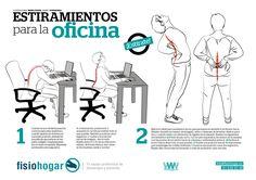 1000 images about estiramientos musculares on pinterest for Estiramientos oficina