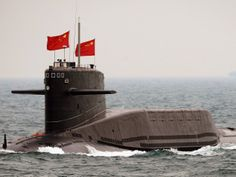 A Chinese Jin-class Type 94 nuclear ballistic missile submarine armed with nuclear tipped missiles.   People's Liberation Army Navy Jin-class nuclear ballistic missile submarine set to begin patrols in 2014, 6 armed with new Ju Lang 2 (JL2), ONI Senior Intelligence Officer Jesse Karotkin told US China Economic 1 Security.