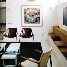 Paulistano chairs by Paulo Mendes da Rocha.
