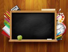 School Blackboard Picture