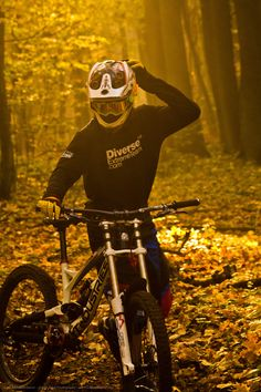 """It was a good ride"" ©2014 SnakeArtworX - Digital Art & Photography  Canon EOS 1100D + Sigma 70-300 F4-5.6 DG Macro  #photography #sports #lifestyle #downhill #mtb #mountainbike #forest #autumn #canon #sigma #ytindustries #marzocchi"