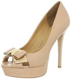 Badgley Mischka Women's Conary Peep-Toe Pump #Shoes #Addicted #Pump #DressPump @bestbuy9432
