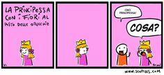 La Principessa coi Fiori al posto delle Orecchie