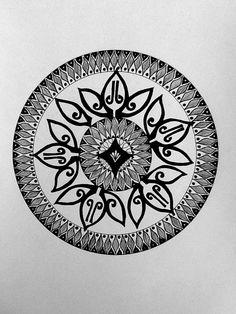 Mandala - Fine Ink Work by Leigh Ellen Williams - leighwatessential@live.com
