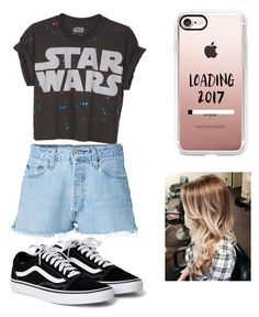 """""""Sin título #25"""" by daniela-reque on Polyvore featuring moda, RE/DONE y Casetify"""
