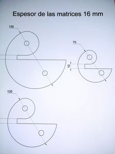 juego de matrices de 3/8  para dobladora de hierro herreria
