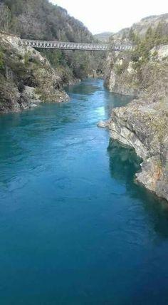 puente mecano. primer corral. rio bueno