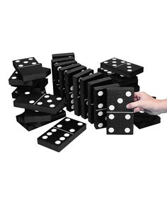 Look what I found on #zulily! Jumbo Foam Dominoes Set by S&S Worldwide #zulilyfinds
