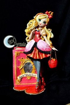Apple White figure by me by AngeniaC on DeviantArt