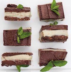 Raw Choc-Mint Slices < Sugar Free Sweets & Treats < Recipes | Coconut Magic