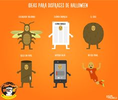 Ideas para disfraces de Halloween