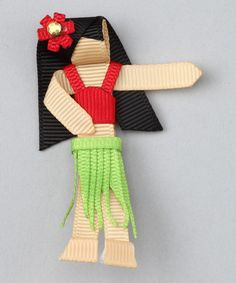 Do --- Look what I found on #zulily! Red Hula Girl Clip by Too Too Cute #zulilyfinds
