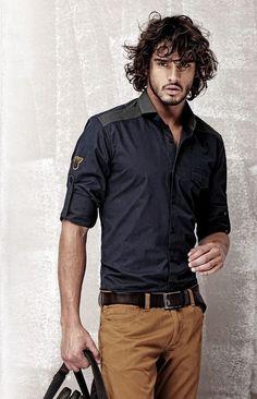 Marlon Get Fresh, Simple Shirts, New Dress, Feel Good, Polo Ralph Lauren, Men Casual, Menswear, Feelings, Men's Shirts