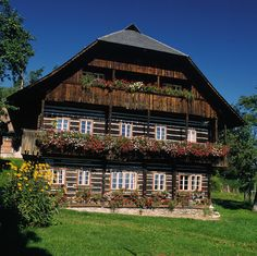 alpine farmhouse in Carinthia, Austria
