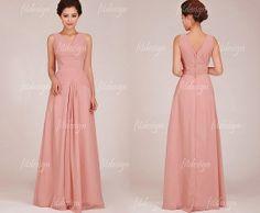 blush bridesmaid dresses long bridesmaid dresses by fitdesign, $119.00