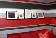 painting stripes on walls horizontal - Google Search