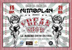 CGCWebRadio®: Nitroplan presenta #FreakShow en vivo en Santa Fe