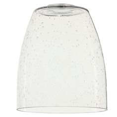 Quorum Clear Seeded Glass Shade For Ceiling Fan Light Kit