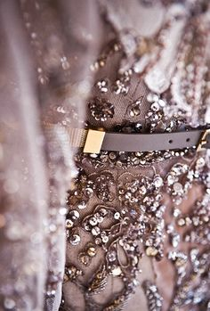 Sparkle like Champagne. Lace, cristal, leather, brass floral, feminine, elegant