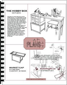 Do it yourself chuck box and patrol box plans