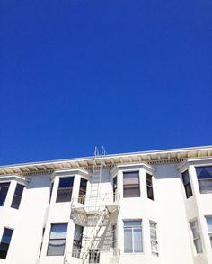 Sky blue sky.