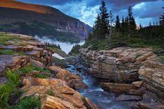 Reynolds Creek Canyon, Glacier National Park