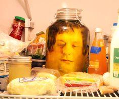 Classic head in a jar prank and 11 more fun pranks for April Fools.