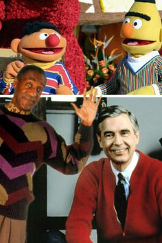 new trend alert going off the man repeller mega trend. Mr rogers and Bill Cosby mens wear style icons of the 90s inspired cable knit loose sweaters. these sweaters are coming back for the winter this year. these sweaters can be found at vintage stores or urban outfitters. Julia S.