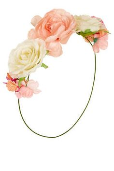 Rose Front hairaccessory, make for an angel <3
