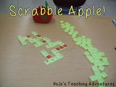 Scrabble Apple is a great, educational game that can be utilized in the classroom!
