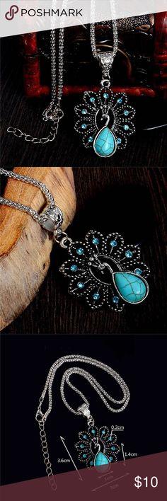 Peacock shaped necklace Peacock shaped necklace Jewelry Necklaces