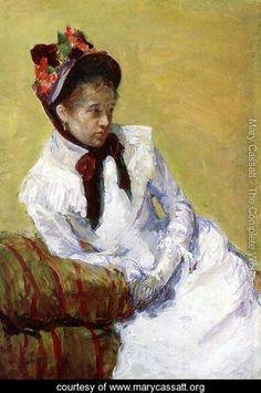 Portrait Of The Artist - Mary Cassatt - www.marycassatt.org
