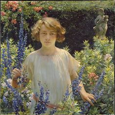Charles Courtney Curran. Lines and Colors post: http://www.linesandcolors.com/2012/06/24/charles-courtney-curran-update/